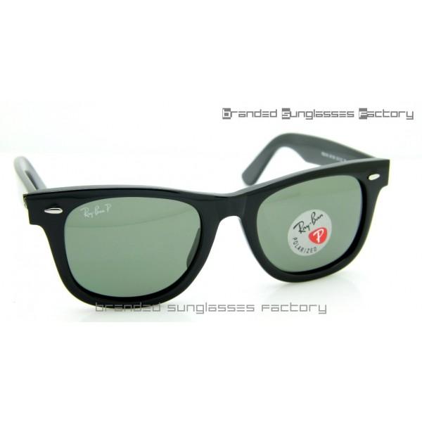 70b25ce68a Fake Ray Ban RB2140 Wayfarer Polarized 50MM Sunglasses Polished ...