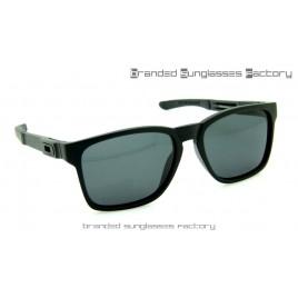 Oakley Catalyst Sunglasses Matte Black Frame Black Lens