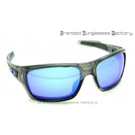Oakley Turbine Sunglasses Grey Ink Frame Blue Iridium Lens