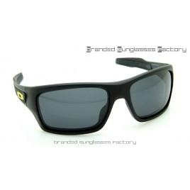 Oakley Turbine Sunglasses Matte Black Frame Black Lens