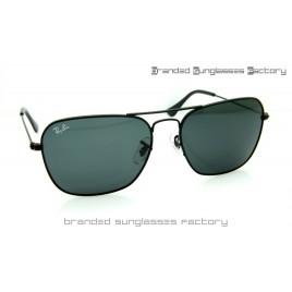0b3acfb1c9a Ray Ban RB3136 Caravan 58MM Sunglasses Black Frame Black Lens
