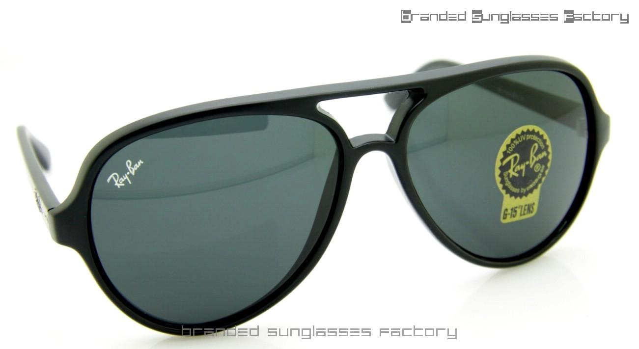 26236a0d60 Ray Ban Cats RB4125 59MM Sunglasses Matt.